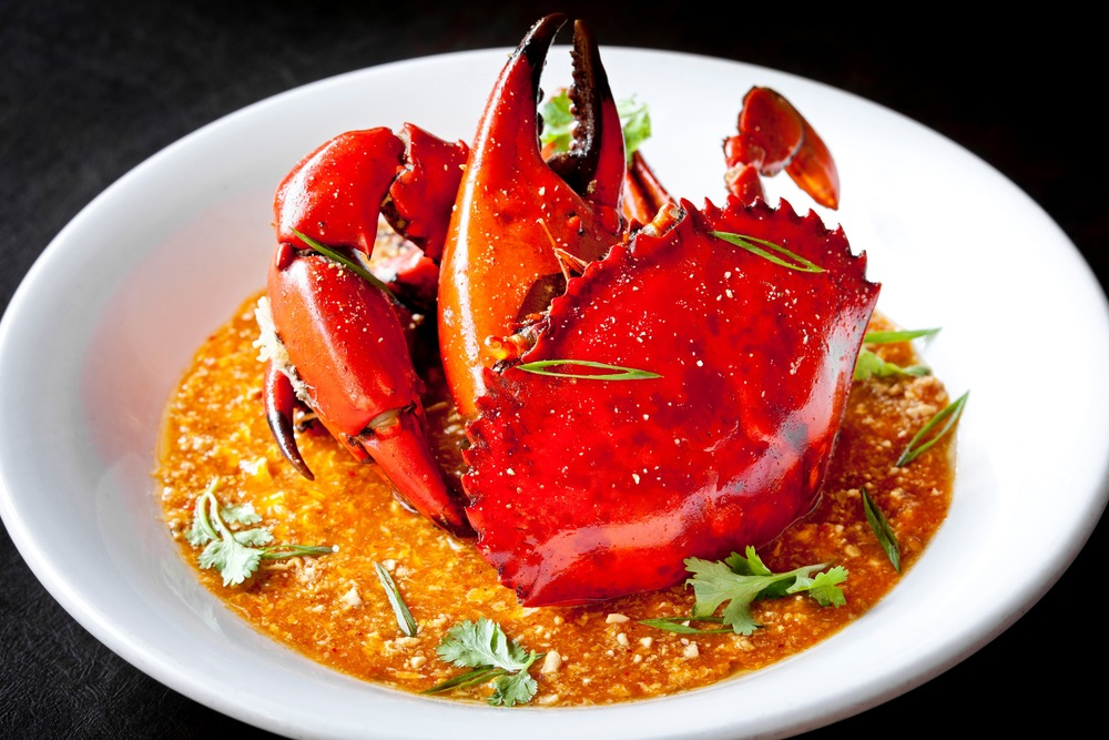 Signature Chili Crab at Azur Restaurant | Photo Credit: Crowne Plaza Changi Airport