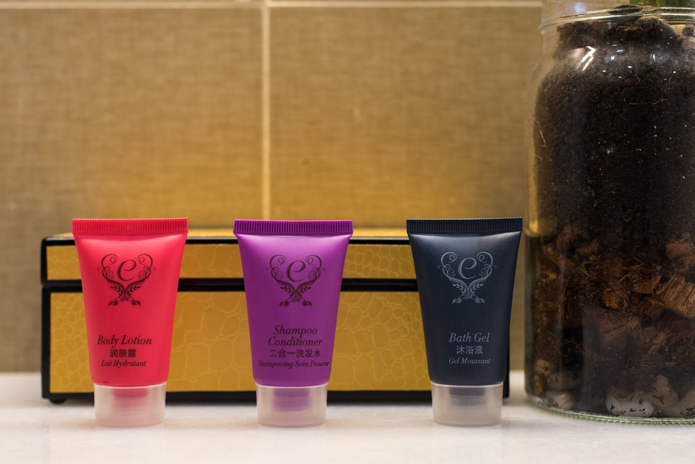 Bathroom Amenities at Dorsett Singapore