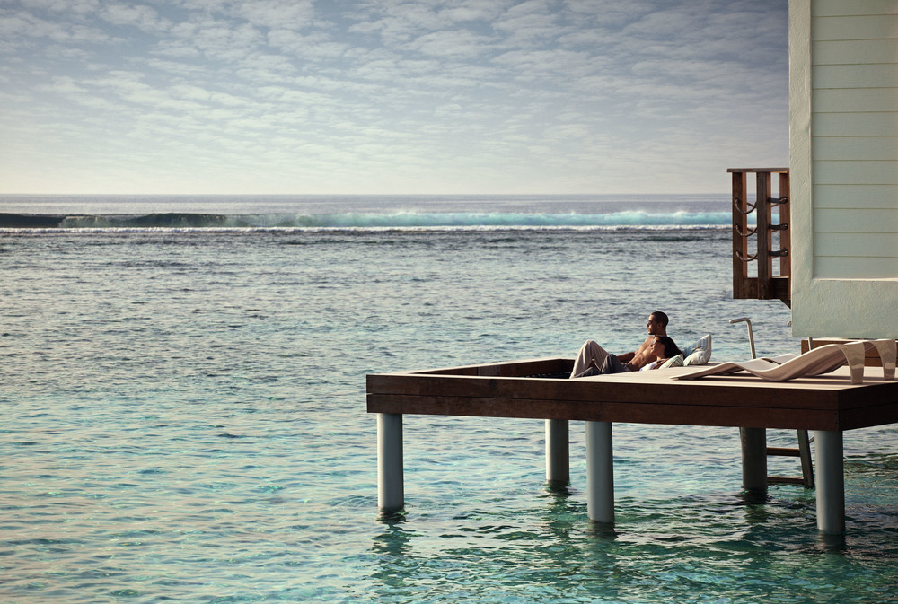 Private Sun Deck at Holiday Inn Resort Kandooma Maldives | Photo Credit: InterContinental Hotels Group