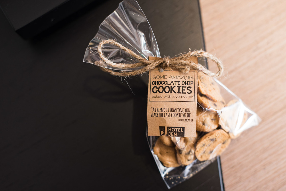 Complimentary Cookies at Hotel Jen Tanglin