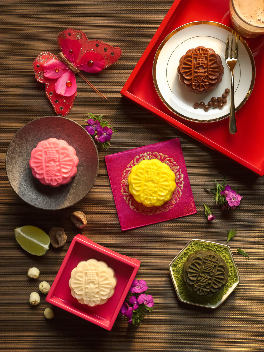 Assorted Snowskin Mooncakes | Photo Credit: Singapore Marriott Tang Plaza Hotel