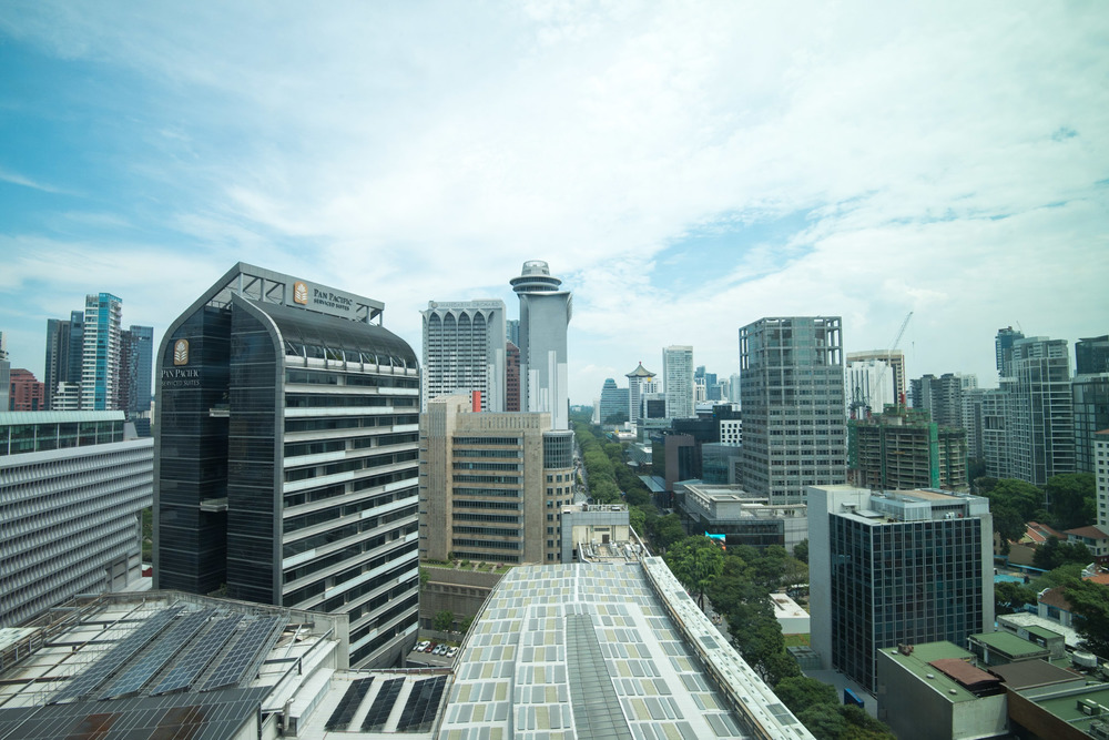 View from Deluxe Room - Hotel Jen Orchardgateway Singapore