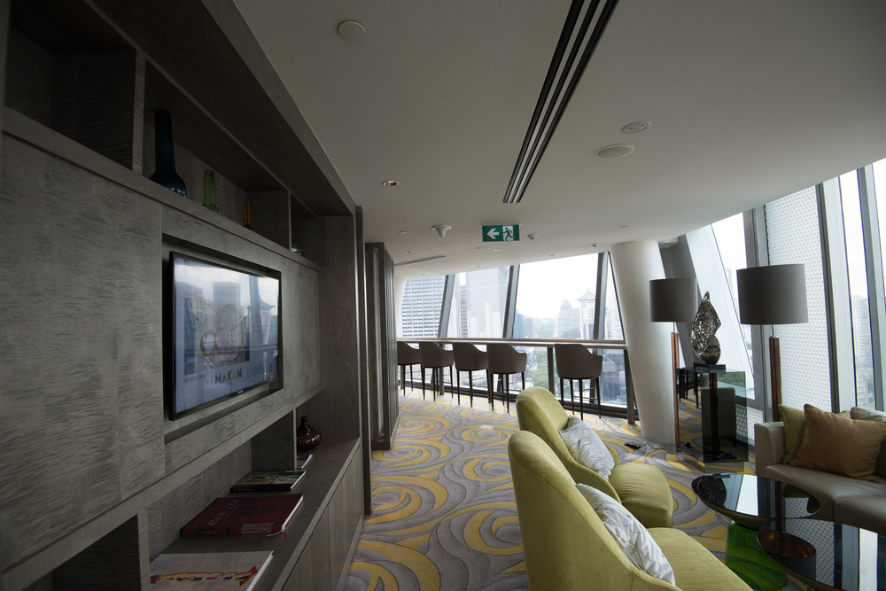 Club Lounge - Hotel Jen Orchardgateway Singapore