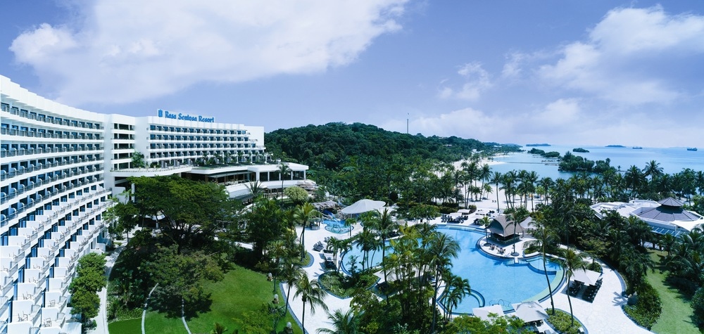 Aerial Shot | Photo Credit: Shangri-La's Rasa Sentosa Resort & Spa, Singapore