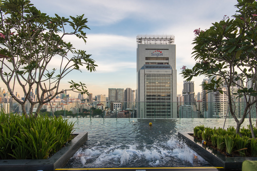 Swimming Pool - Hotel Jen Orchardgateway Singapore