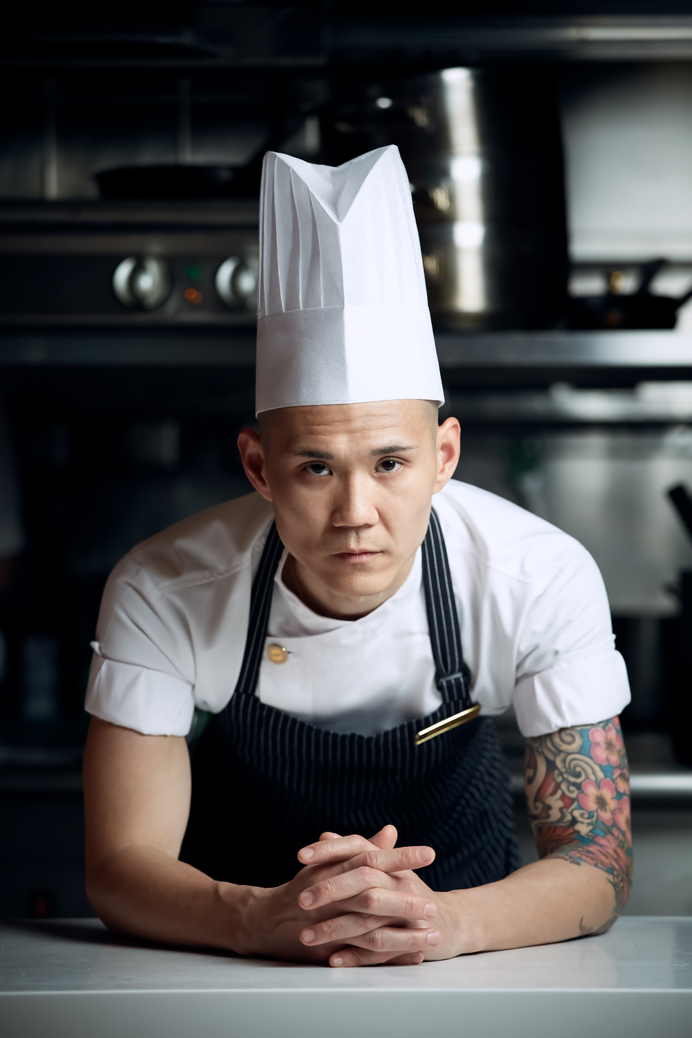 Chef de Cuisine - Vincent Wong | Photo Credit: Shangri-La Hotel, Singapore