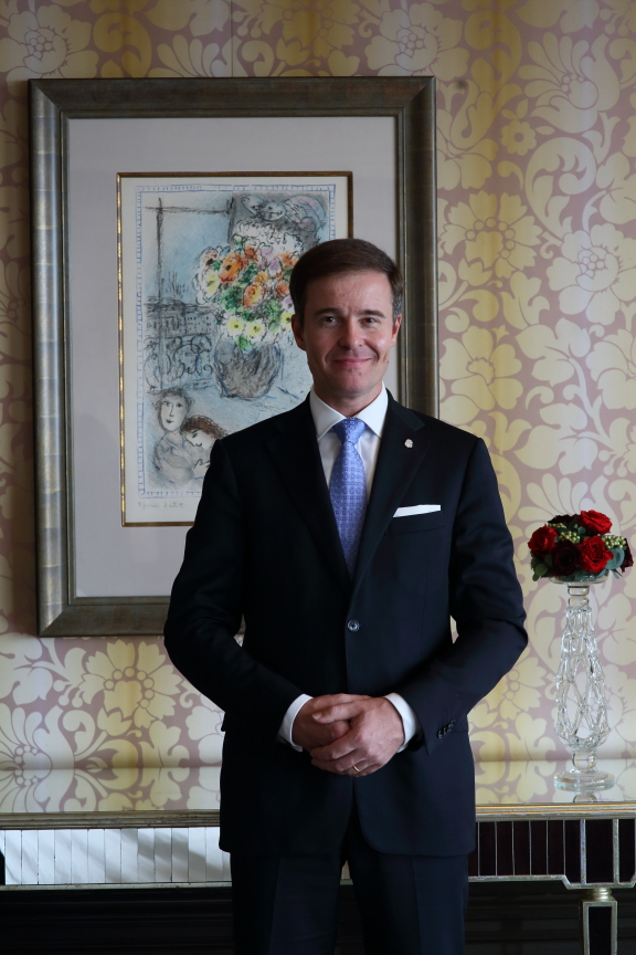 Klaus Christandl | Photo Credit: The St. Regis Singapore