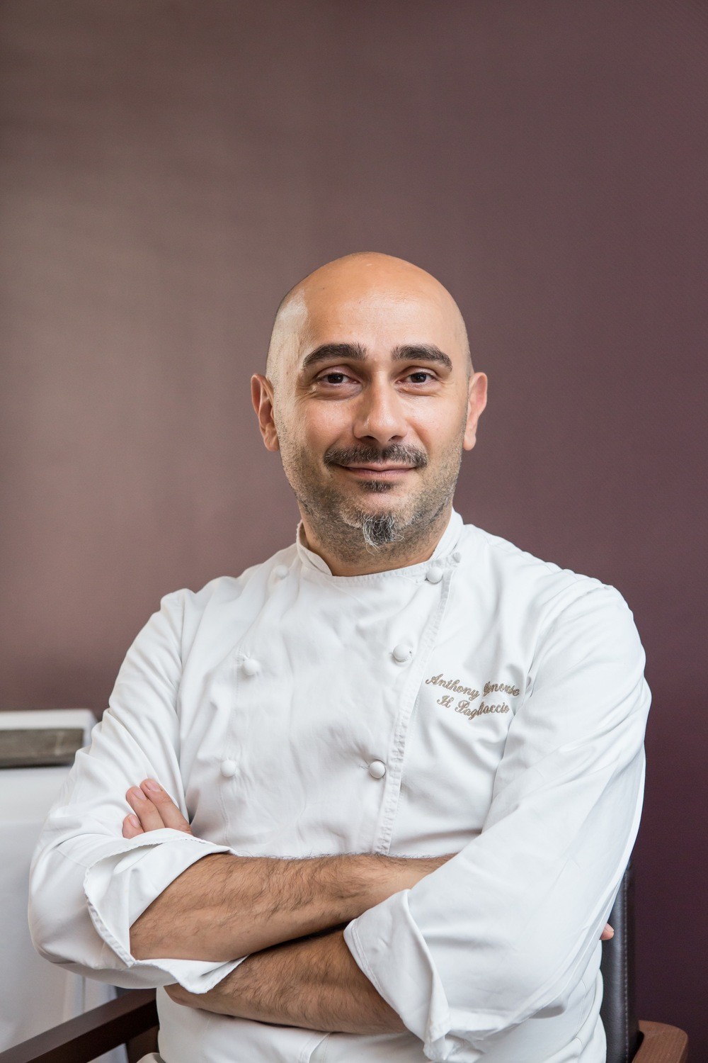 Chef Anthony Genovese | Photo Credit: Mandarin Oriental, Singapore Dolce Vita - Mandarin Oriental, Singapore
