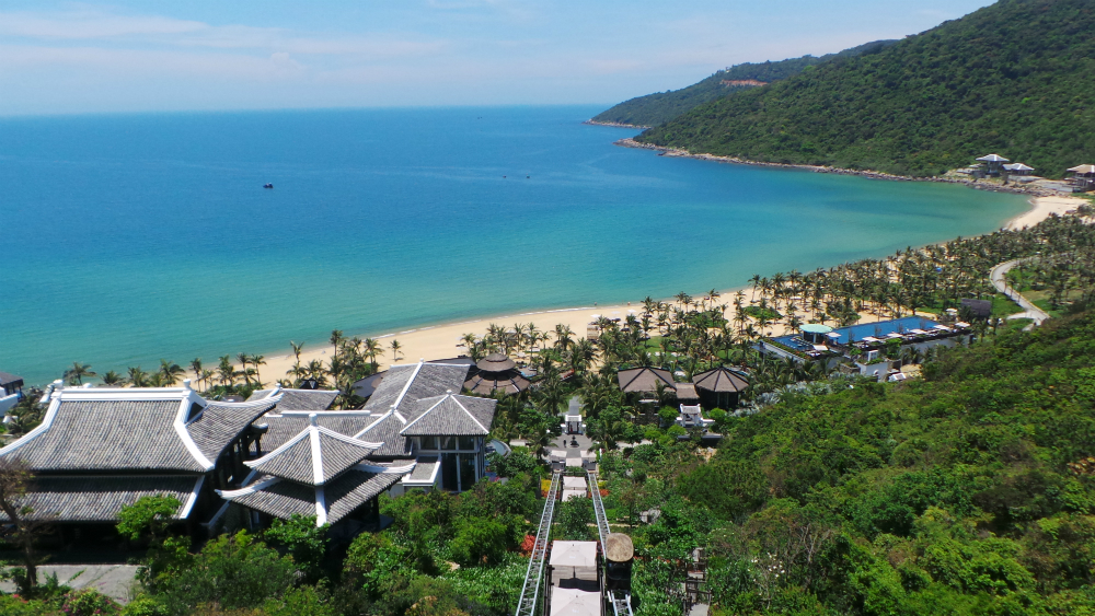 Resort View | Photo Credit: InterContinental Danang Sun Peninsula