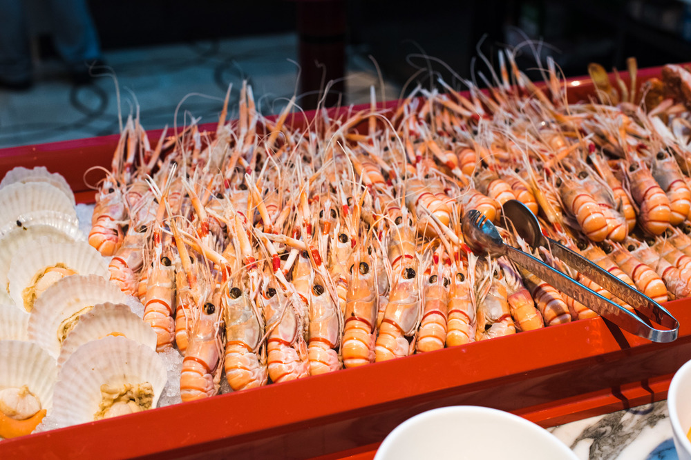 Langoustines on Ice Colony - The Ritz-Carlton, Millenia Singapore