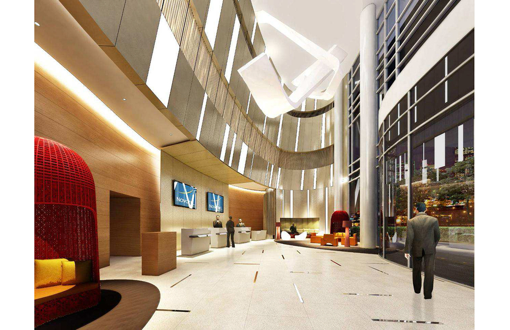 Hotel Lobby | Photo Credit: Novotel Manila Araneta Center