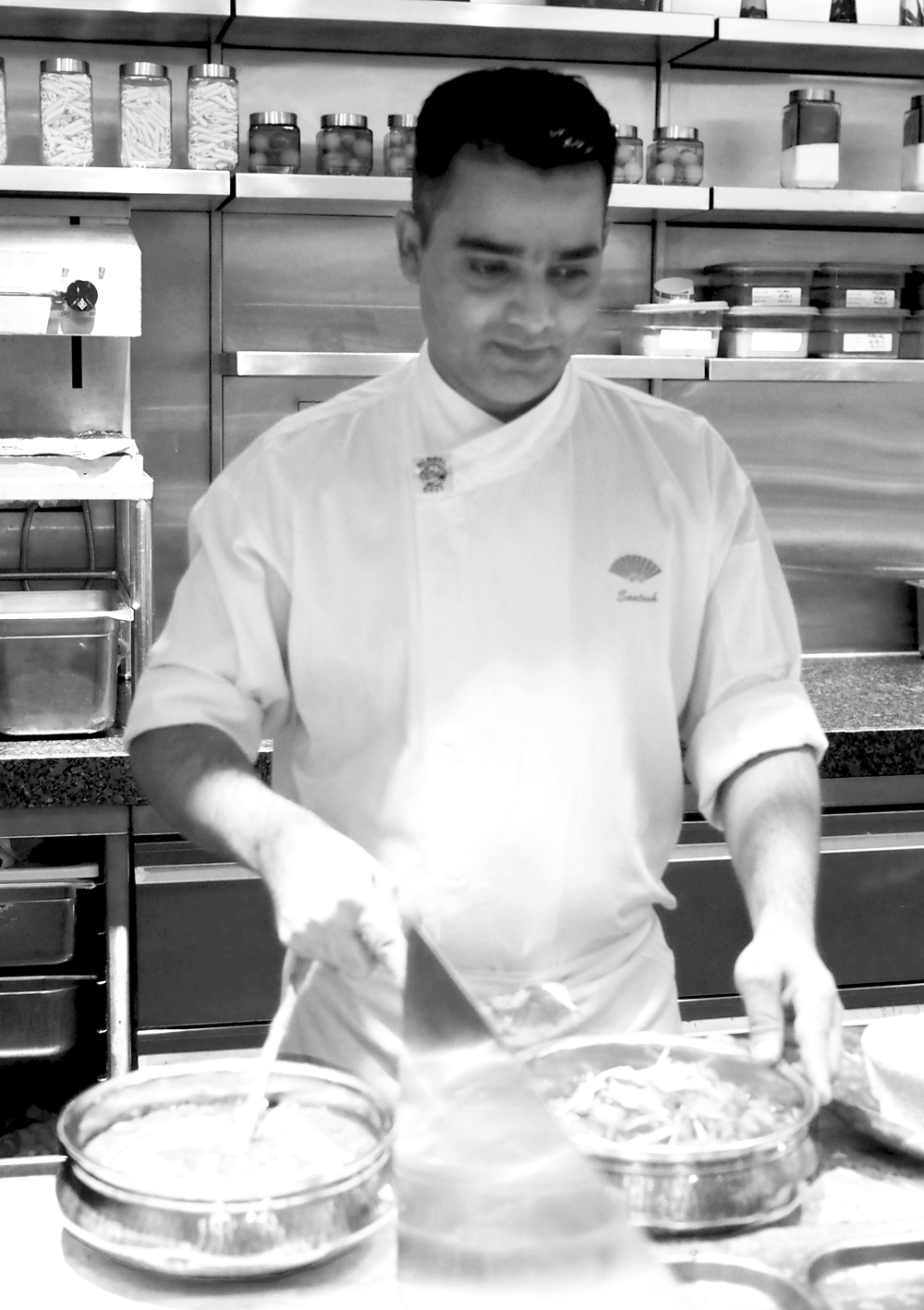 Chef Santosh Kumar | Photo Credit: Mandarin Oriental, Singapore