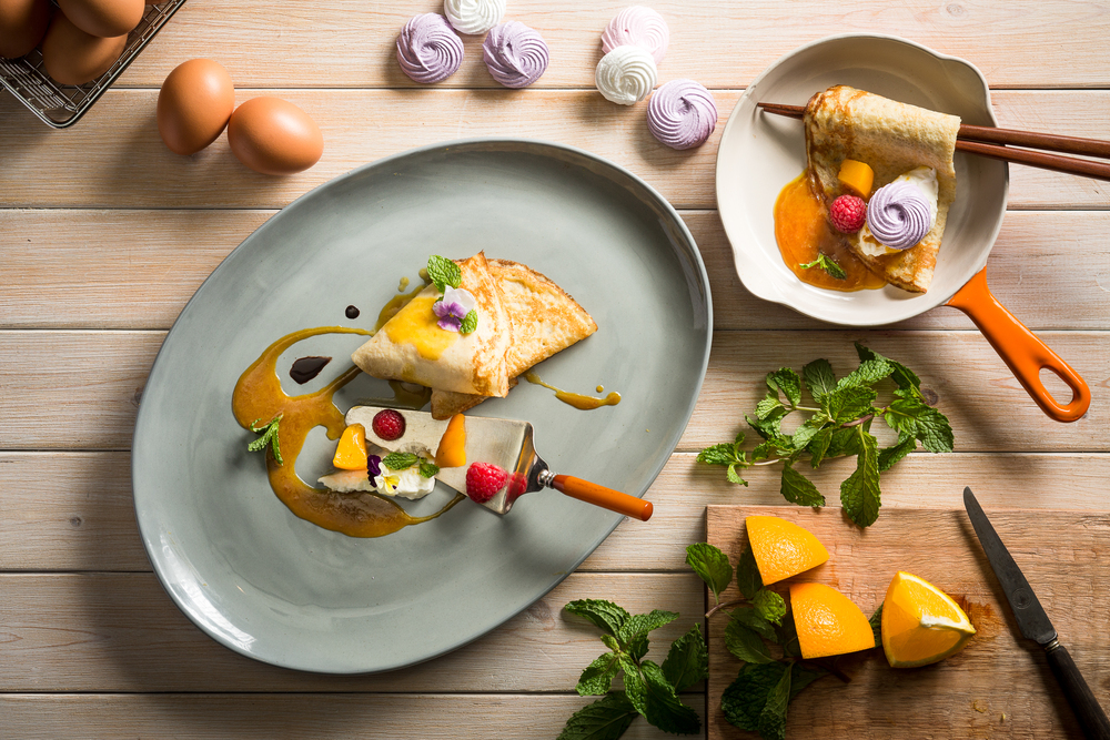 Crêpe Suzette | Photo Credit: Crowne Plaza Changi Airport