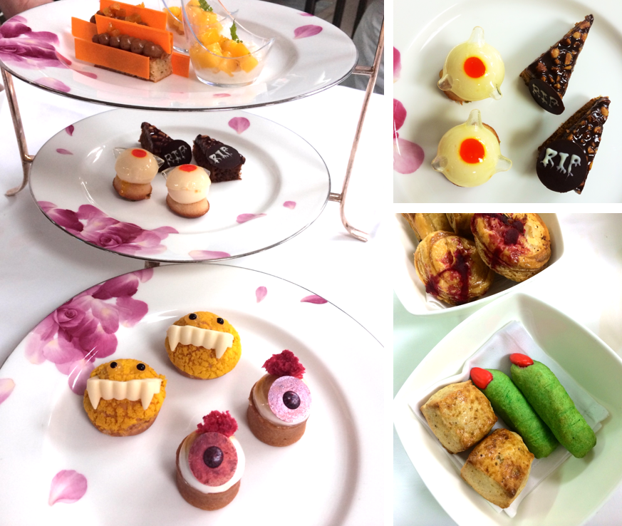 Axis October Halloween Afternoon Tea | Photo Credit: Mandarin Oriental, Singapore