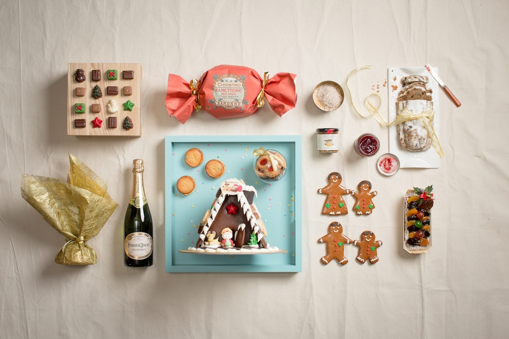Luxe Christmas Hamper | Photo Credit: InterContinental Singapore