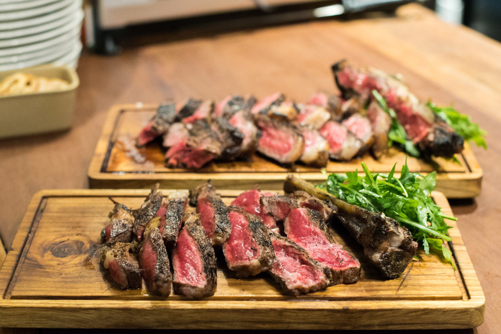 45 days Home Dry Aged Grass-fed Black Angus OP Rib  (S$18++ per 100 gram) DIstrict 10 Suntec City