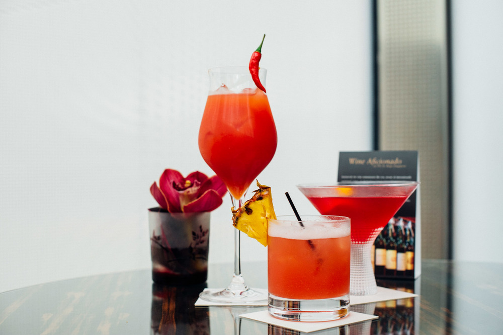 Chili Padi Mary, Maitai, Cosmopolitan Astor Bar - The St. Regis Singapore