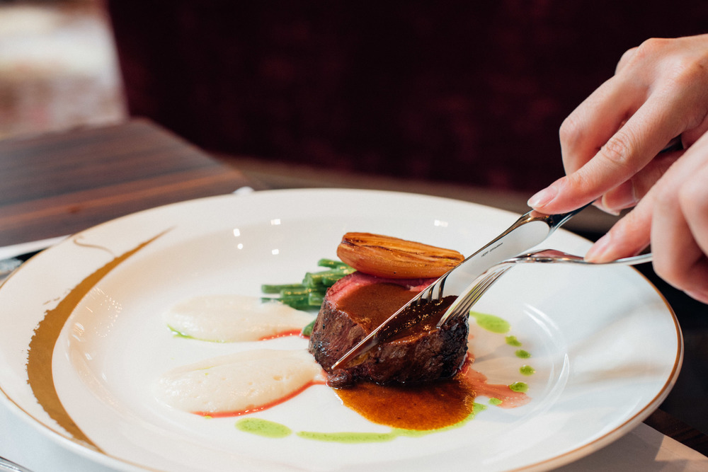 Slow Cooked Angus Beef Tenderloin Brasserie Les Saveurs - The St. Regis Singapore