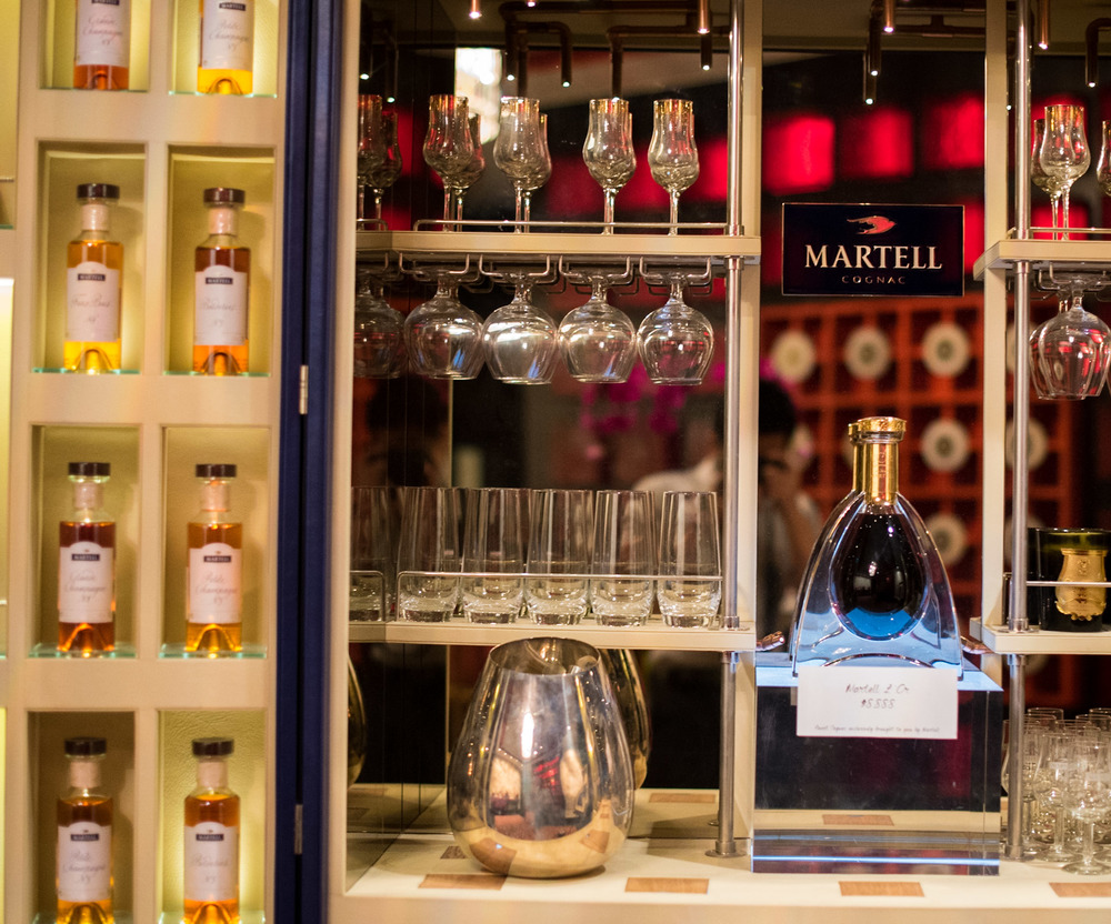 The Martell Trunk by Pinel et Pinel  Shang Palace - Shangri-La Hotel, Singapore