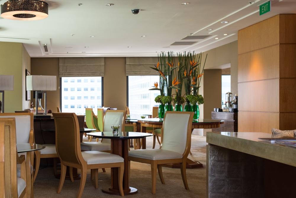 Executive Lounge Conrad Centennial Singapore