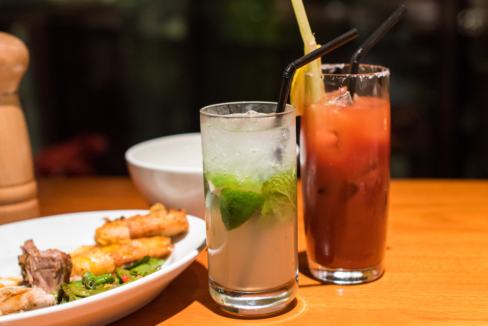 Mojito and Bloody Mary  Mezza9 (Sunday Brunch) - Grand Hyatt Singapore