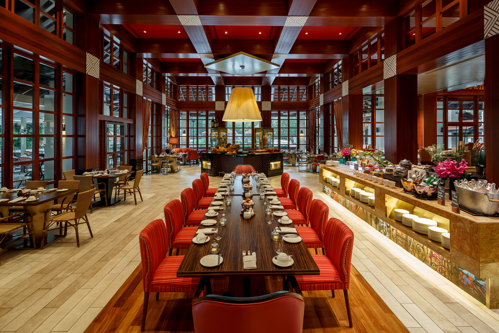 Kwee Zeen Restaurant | Photo Credit: Sofitel Singapore Sentosa Resort & Spa