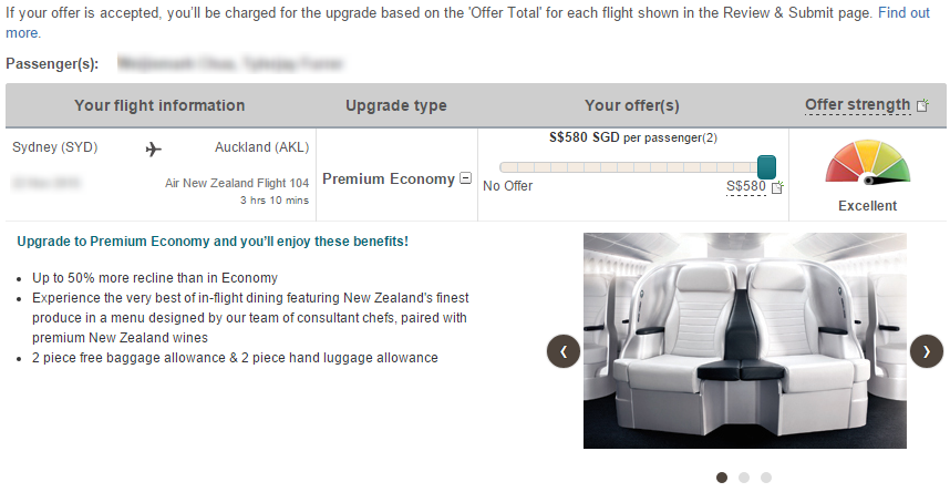OneUp on Air New Zealand