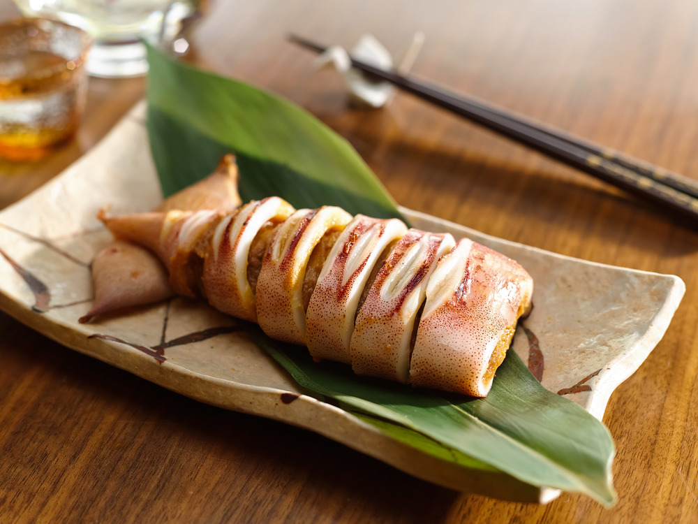 Ika Teppo-yaki | Photo Credit: Pan Pacific Singapore