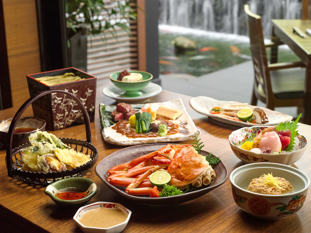 8-course Kaga Set Menu | Photo Credit: Pan Pacific Singapore