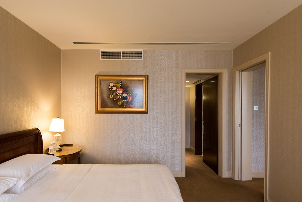 Bedroom  Executive Suite - Sheraton Towers Singapore