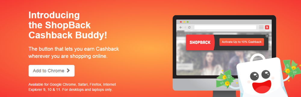 ShopBack Cashback Buddy | Photo Credit: ShopBack