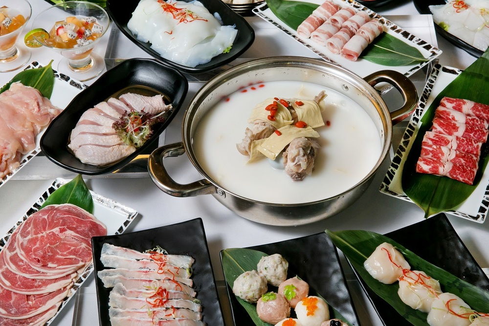 Sharks Bone Cartilage Soup with Fresh Beancurd Sheets Set Menu | Photo Credit: Orchard Hotel Singapore