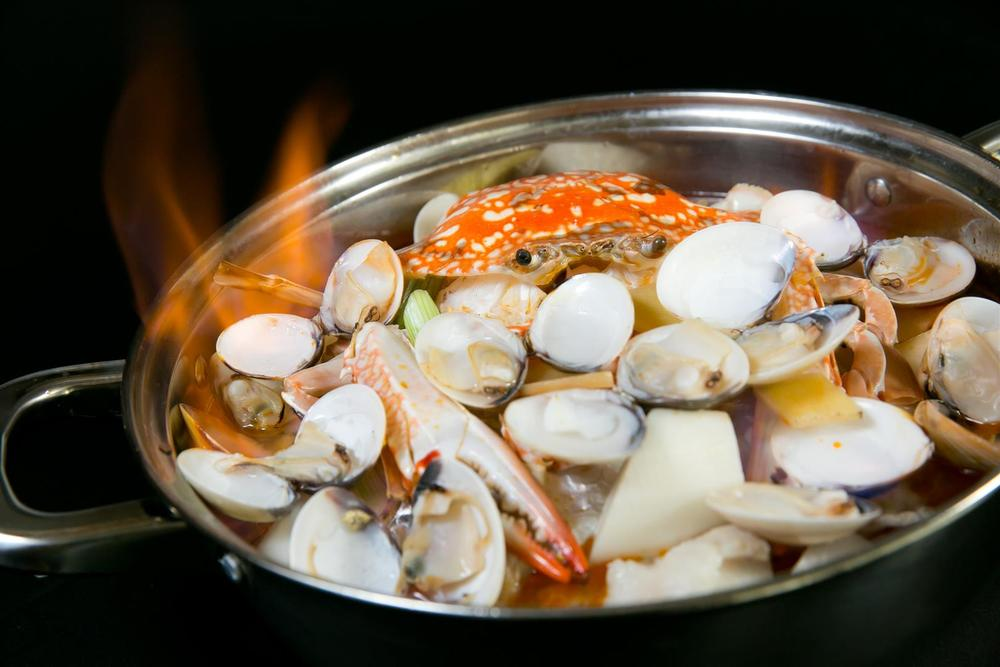 Sea Treasure Flambé | Photo Credit: Orchard Hotel Singapore