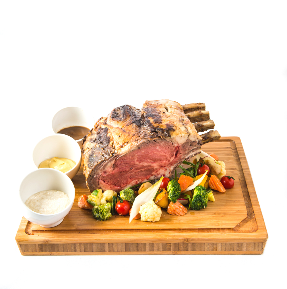 Roasted Prime Beef | Photo Credit: Shangri-La Hotel, Singapore