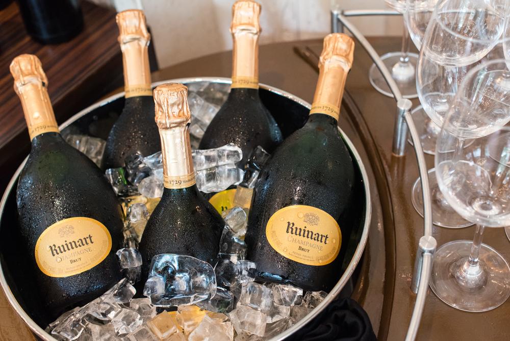 Champagner aus singapore