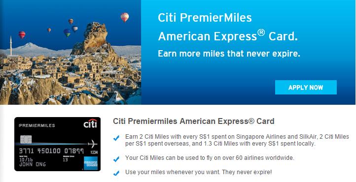Citi PremierMiles American Express® Card