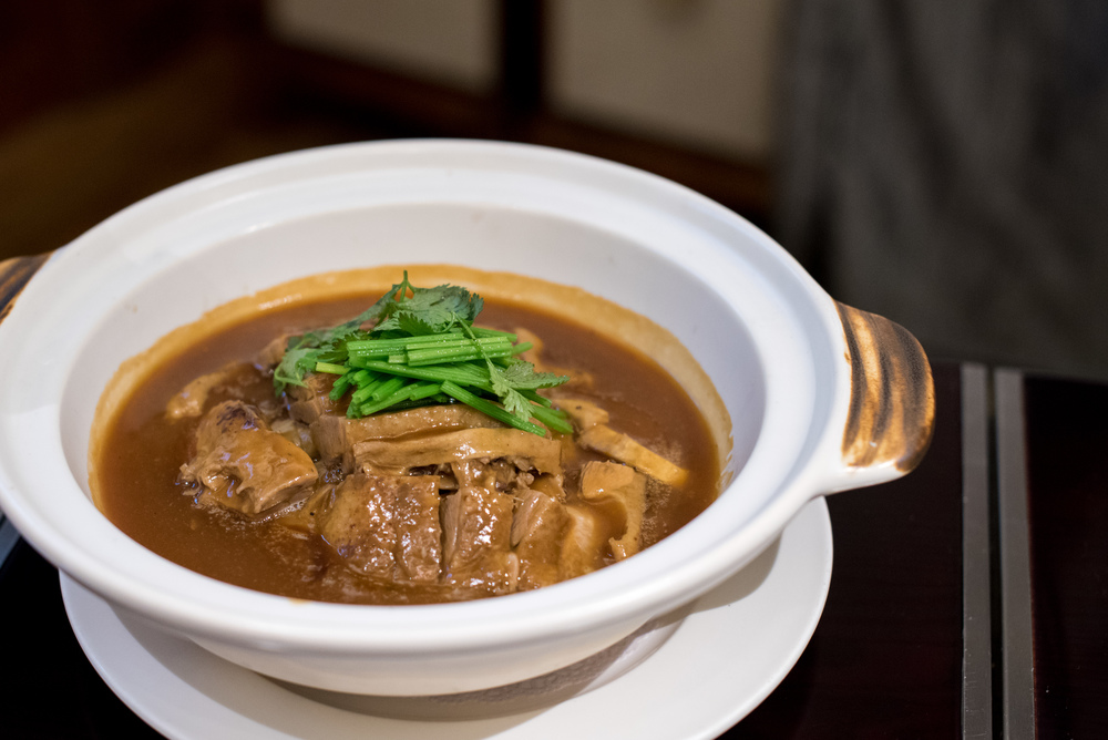 Braised Duck with Yam and Plum in Casserole - Winter Solstice (2015) Man Fu Yuan - InterContinental Singapore