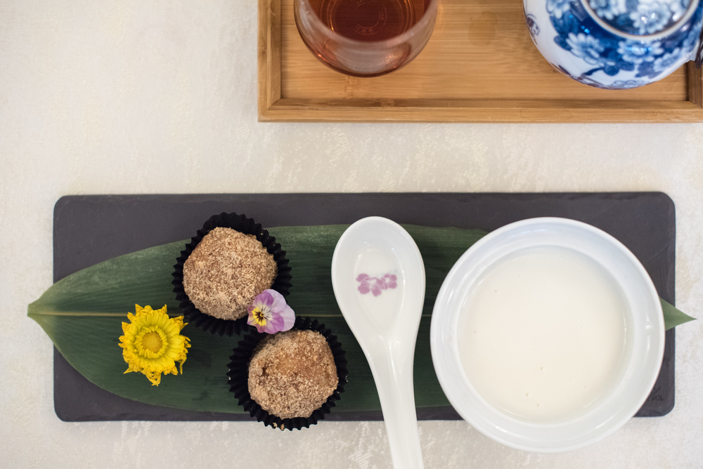 Cream of Almond with Glutinous Rice Ball - Winter Solstice (2015) Man Fu Yuan - InterContinental Singapore