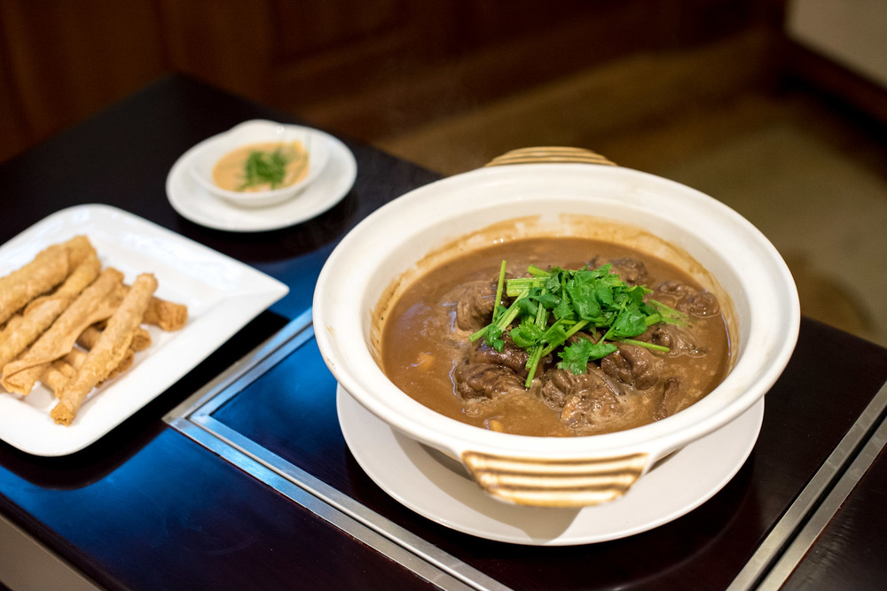 Stewed Lamb with Bamboo Shoots and Mushrooms in Casserole - Winter Solstice (2015) Man Fu Yuan - InterContinental Singapore