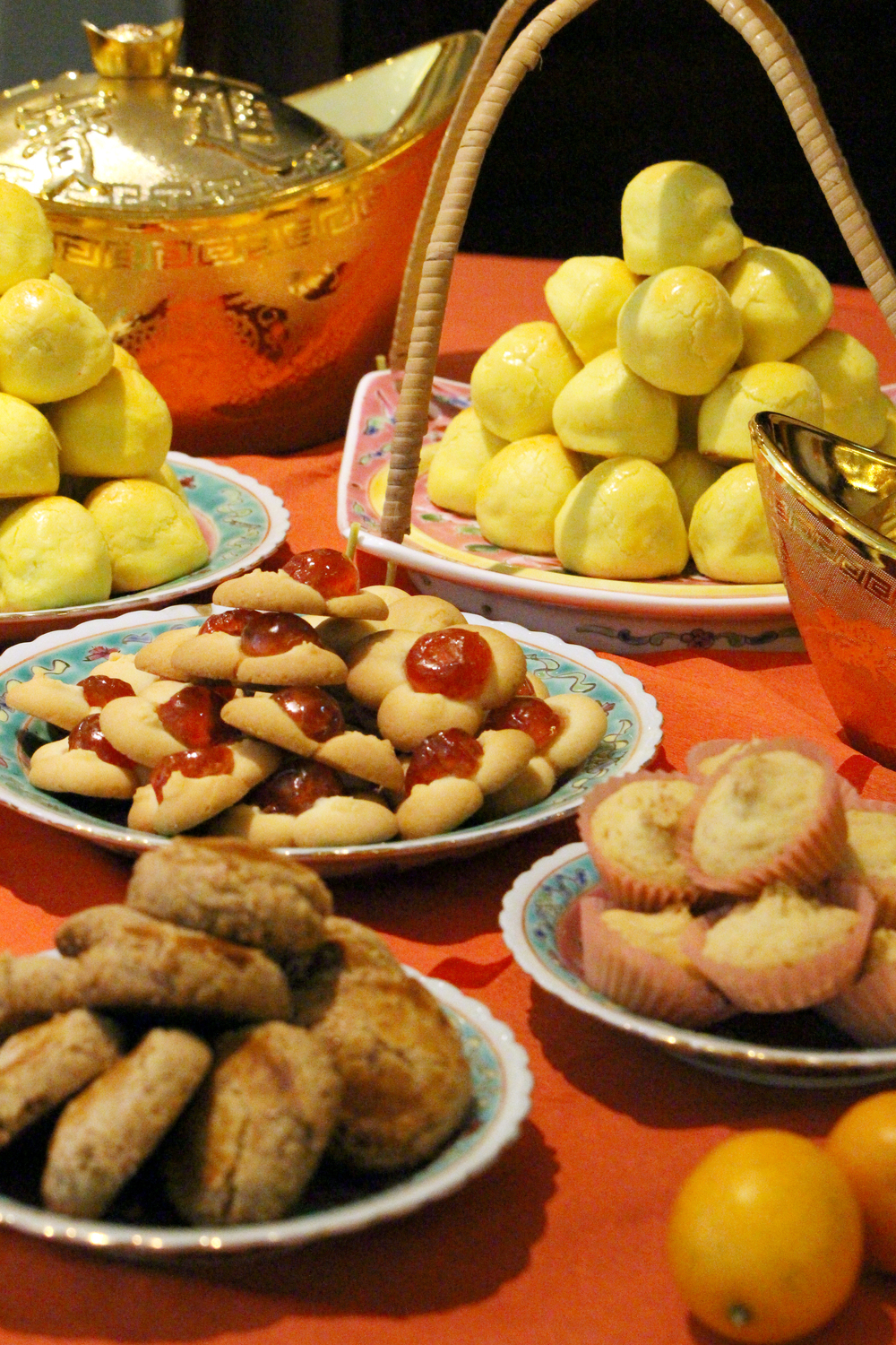 Lunar New Year Cookies | Photo Credit: Grand Mercure Singapore Roxy
