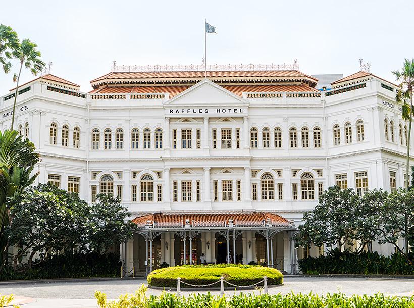 The Iconic Raffles Singapore Hotel | Photo Credit: Raffles Singapore Hotel