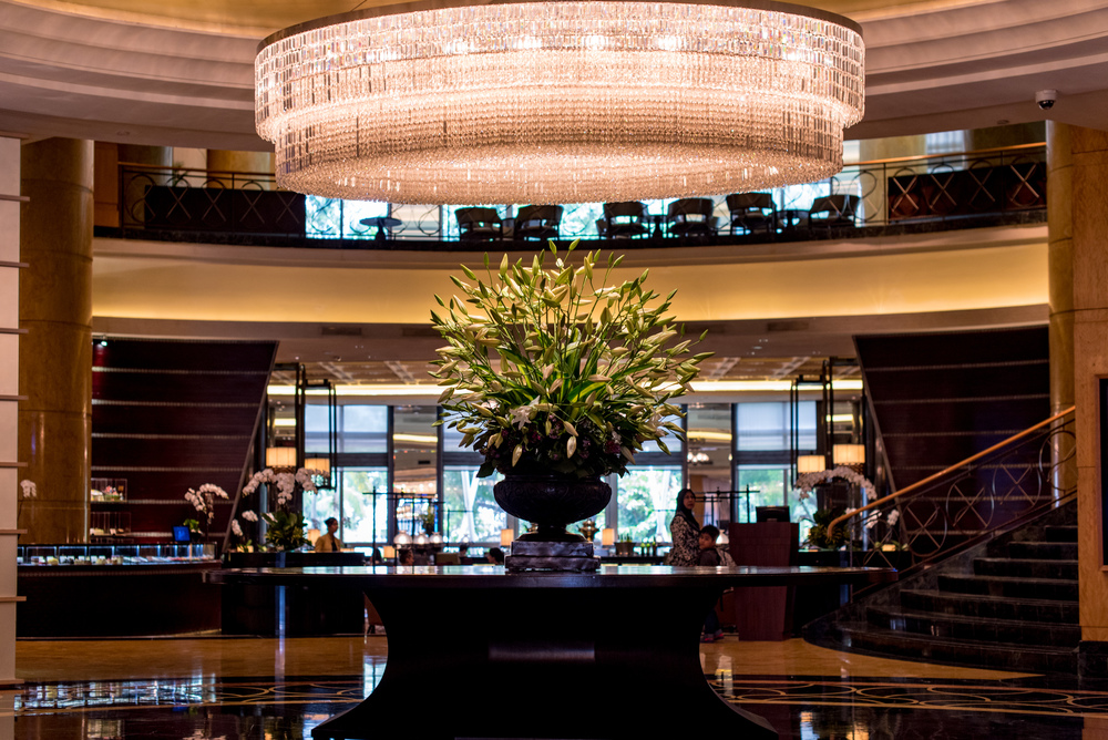Hotel Lobby Mandarin Oriental, Kuala Lumpur