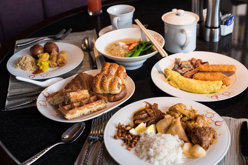 Full Buffet Breakfast at Mosaic    Mandarin Oriental, Kuala Lumpur