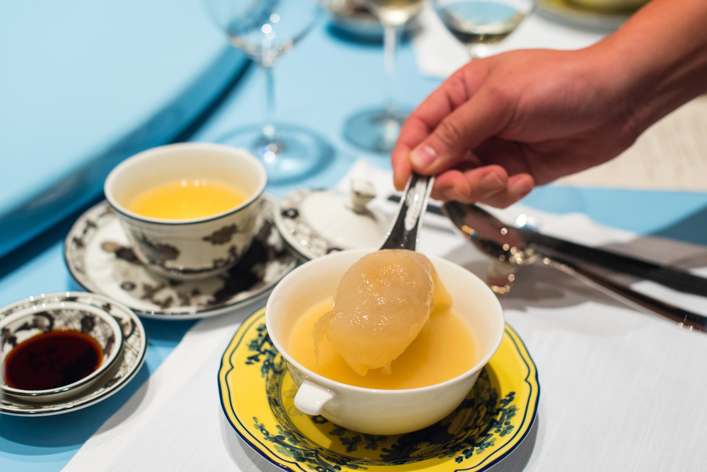 Double-boiled Cartilage Soup, Sea Cucumber, Stuffed Bird's Nest, Chicken  Summer Pavilion - The Ritz-Carlton, Millenia Singapore