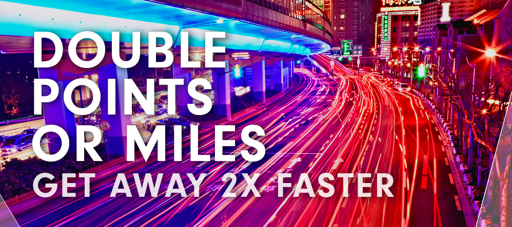Double Points of Miles with Hilton 2016