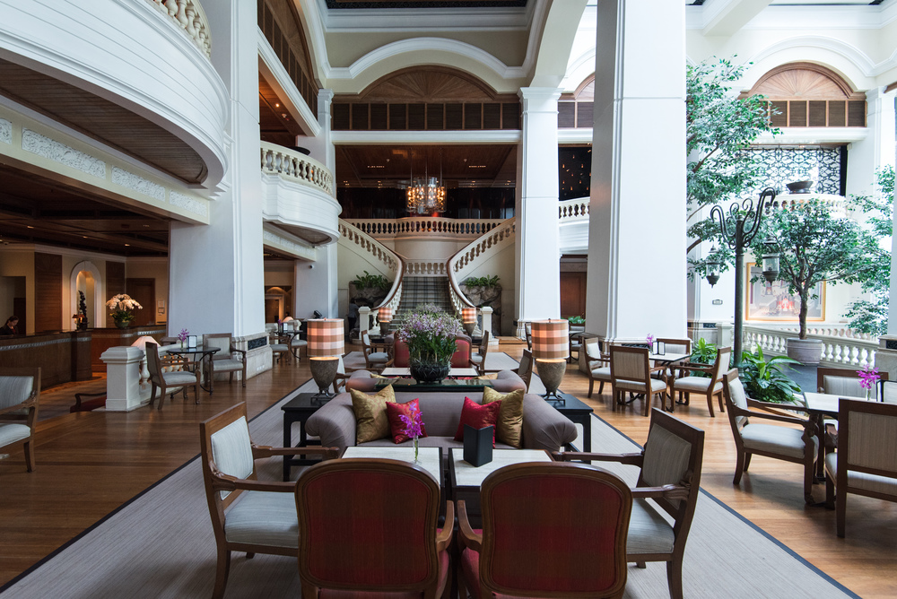 The Garden Lounge Grand Hyatt Erawan Bangkok