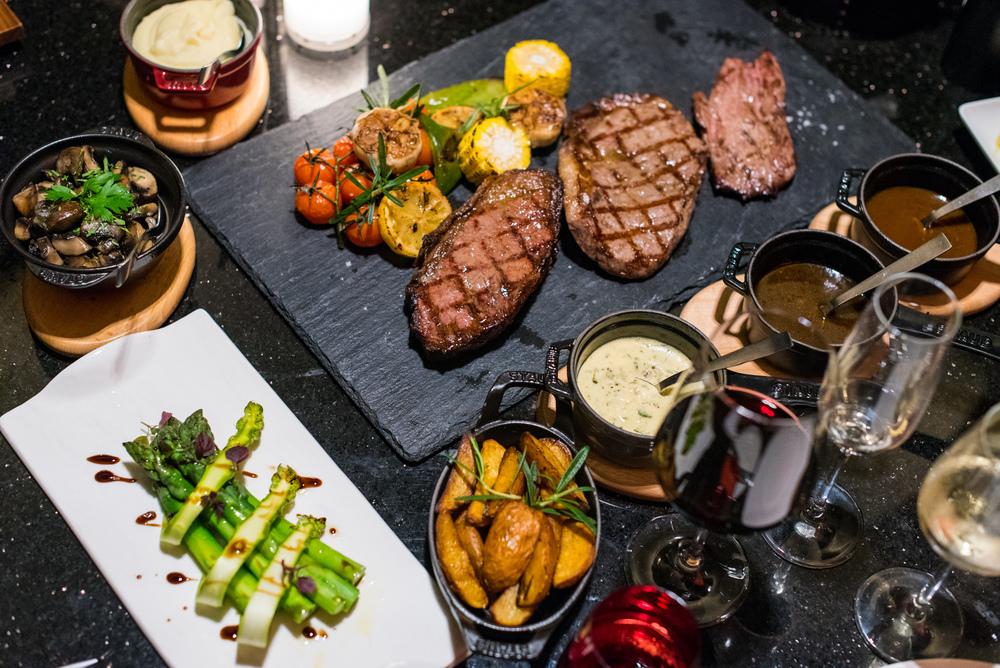 Beef Tasting Platter Ash & Elm -InterContinental Singapore