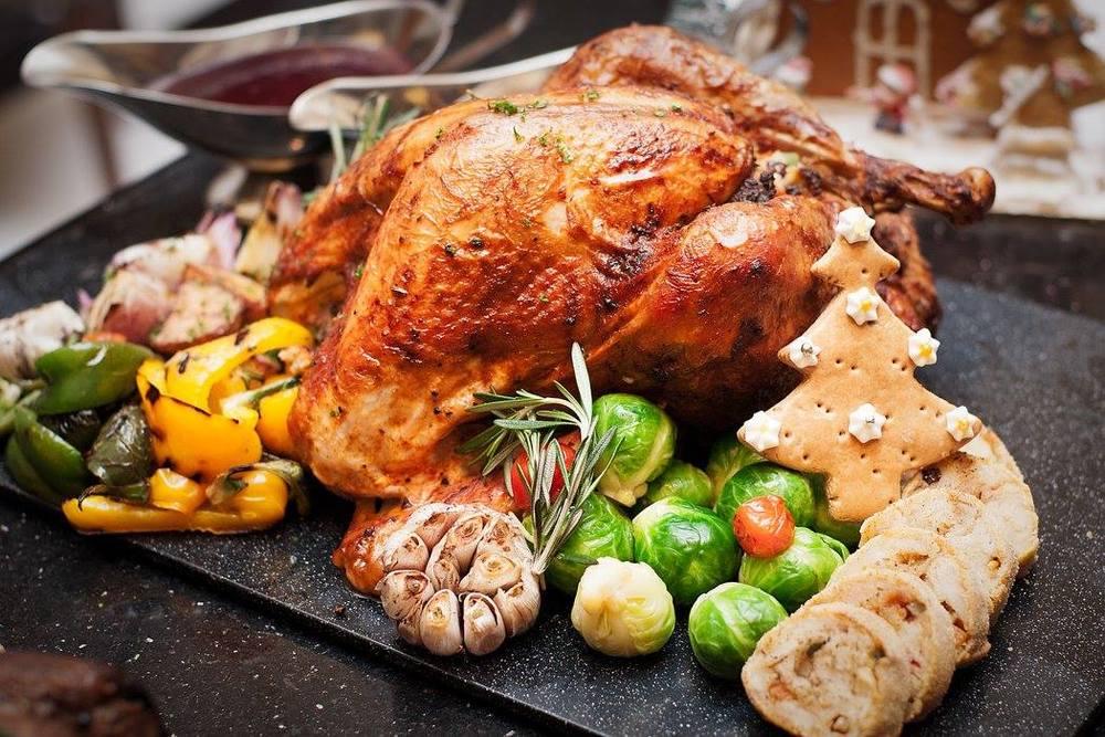 Roasted Turkey |Photo Credit: DoubleTree by Hilton Johor Bahru