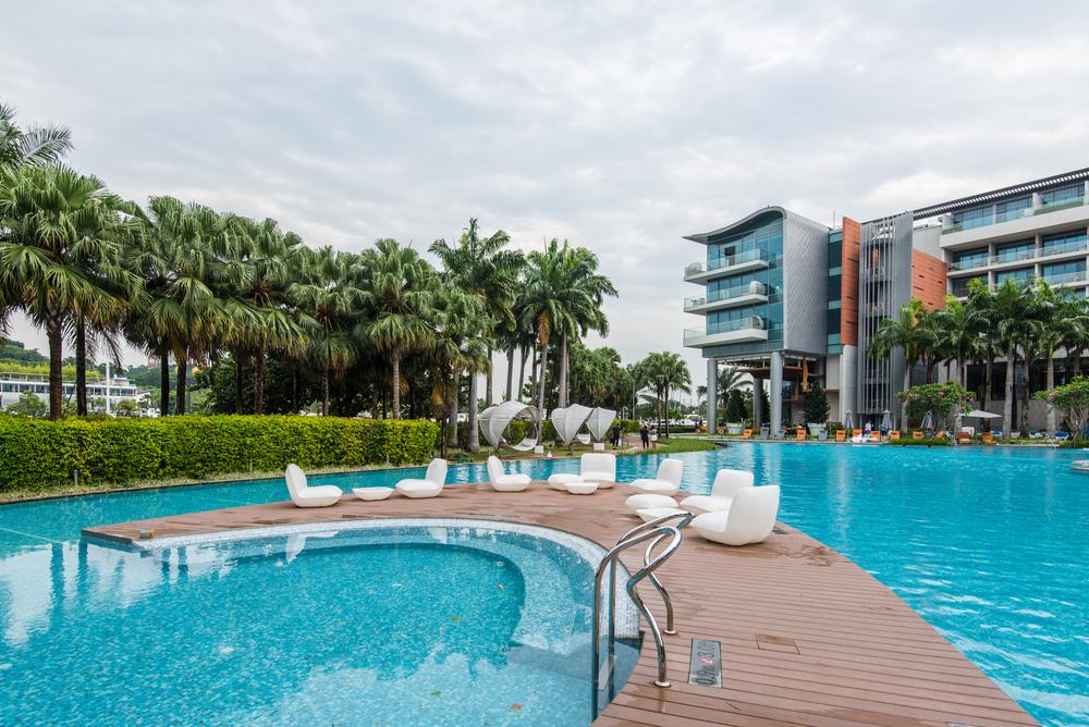 WET® Pool  W Singapore Sentosa Cove