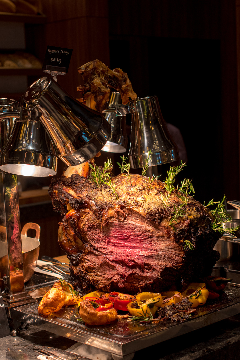 Signature Chicago Bull Leg - Sunday Brunch  J65 - Hotel Jen Tanglin Singapore